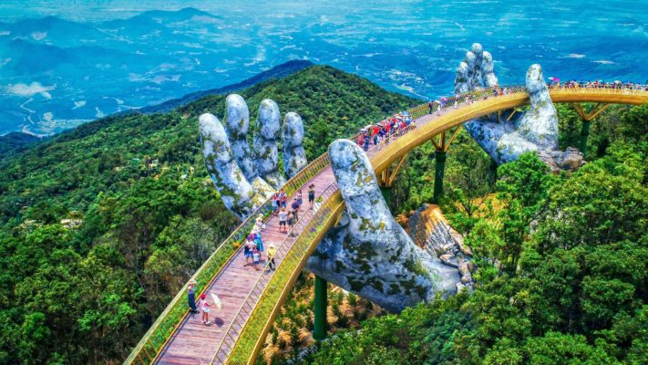 golden bridge ba na hills tour from tien sa port